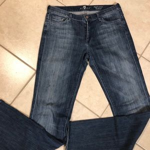 7 for All Mankind Jeans High Waist Boot